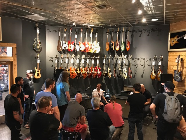 Q&A Session with Christoph at Guitar Center Nashville