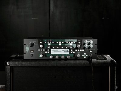KEMPER PROFILER™ in Recording Studio