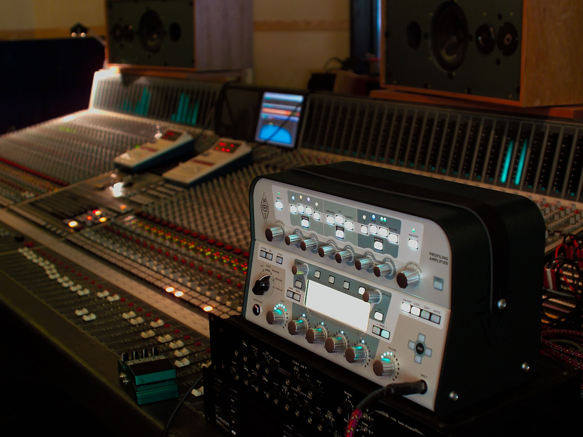 Kemper Profiler in Recording Studio