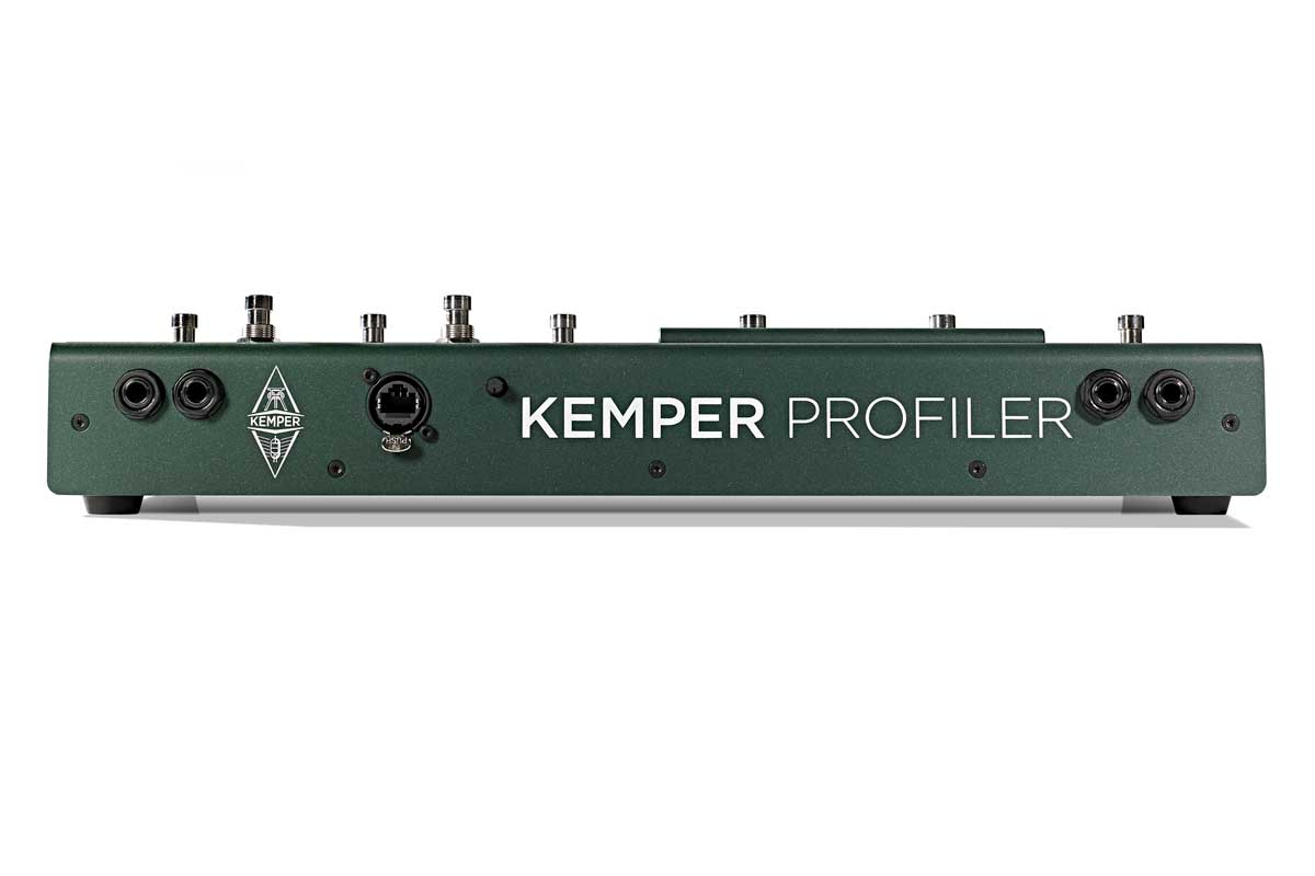 Profiler Remote, back view
