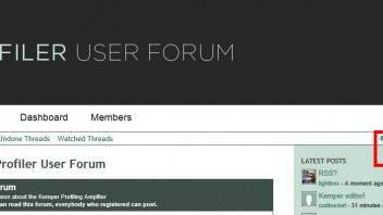 RSS? - Website and Forum Software discussion - Kemper Profiler Forum